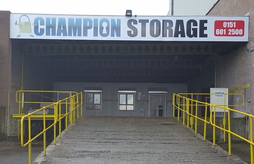 the only drive-in storage on the Wirral